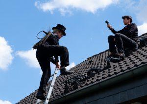 Mit der Actioncam auf den Dächern der Stadt