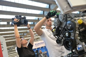 Videodreh auf der Automechanika 2016 am Stand der Fa. Stahlwille (Foto: Klaus Richter)